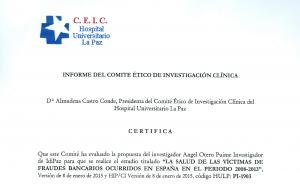Informe Comité Ético