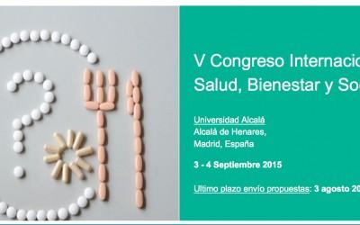 3.9.2015 – V Congreso Internacional sobre Salud, Bienestar y Sociedad