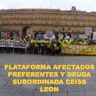Plataforma Afectados Preferentes y Deuda Subordinada Ceiss León
