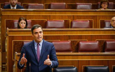 La recesión puede llegar al 13,6% y Sánchez pide a la UE un fondo de 1,5 billones